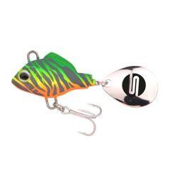 Vobler Spro ASP Spinner UV 10g, culoare Fire Zebra