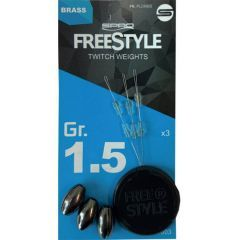 Kit Spro Freestyle Twitch Weights 1g