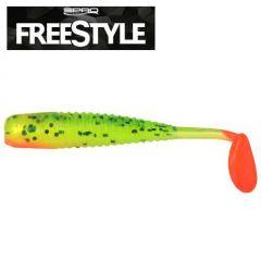 Shad Spro Freestyle 3.7cm, culoare Citrus Disco