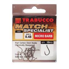 Carlige Trabucco Match Specialist MB Nr. 12
