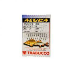 Carlige Trabucco Akura Caras Legate nr.14 - Fir 0.14mm