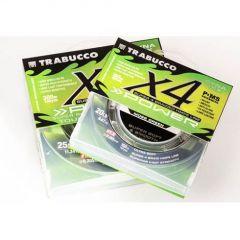 Fir textil Trabucco Dyna-Tex X4 Power UV Moss Green 0.14mm/6.81kg/150m