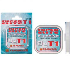Fir monofilament Trabucco Super Elite Fluorine 0.20mm/50m