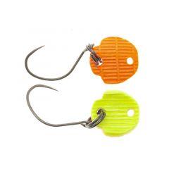 Lingura oscilanta Neo Style Hado 1.7g, culoare Super Fluo Glossy Orange/Yellow