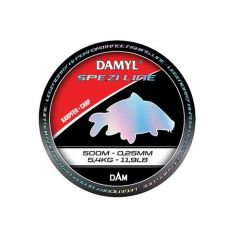 Fir monofilament D.A.M Damyl Spezi Line Carp 0.30mm/7.6kg/400m