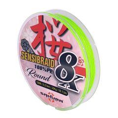 Fir textil Sakura Sensibraid 8X 0.12mm/9kg/150m