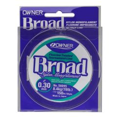 Fir Monofilament Owner Broad Fluorine Treated, 0.16mm/2.70kg/150m