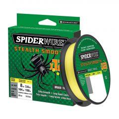 Fir Textil Spiderwire Stealth Smooth 12 Braid Hi-Vis Yellow 0.15mm/16.5kg/150m