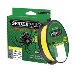 Fir Textil Spiderwire Stealth Smooth 8 Hi-Vis Yellow 0.06mm/5.4kg/150m