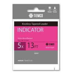 Fir monofilament Tiemco Indicator Leader 3X 13ft