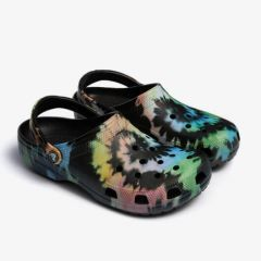 Crocs Classic Tie Dye Graphic Clog U, marime 45-46