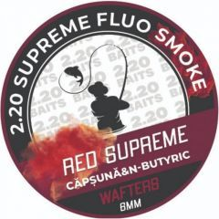 Wafters 2.20 Baits Wafter Supreme Fluo Smoke Capsuna & N-Butyric 6 mm