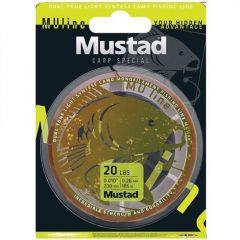 Fir monofilament Mustad Carp Special 0.23mm/3.6kg/1200m