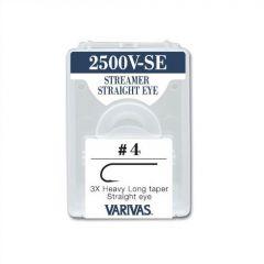 Carlige Varivas Fly 2500V Streamer Straight Eye nr. 6