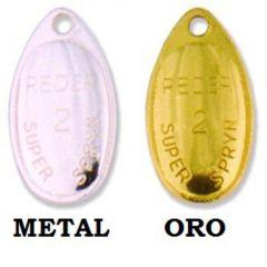 Lingura rotativa Mapso Reder Nr 4, culoare Metal 9.5gr