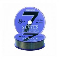 Fir monofilament Drennan 7 Carp&Silverfish 0.16mm/3.4lb/100m
