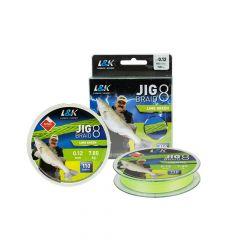 L&K Jig Braid 0.08mm/4.9kg/110m Fir textil EnergoTeam