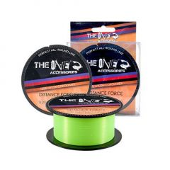 Fir monofilament The One Distance Force Yellow 0.22mm/270m