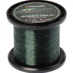 Fir monofilament Prologic Mimicry Green Helo 0.35mm/9.8kg/1000m