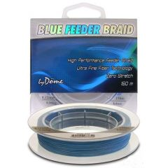 Fir textil Dome TF Blue Feeder Braid 0.06mm/150m
