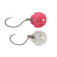 Lingura oscilanta Neo Style Hado 0.8g, culoare Super Fluo Neo White/Pink