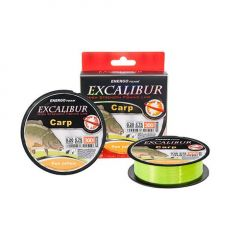 Fir monofilament EnergoTeam Excalibur Carp Fluo Yellow 0,30mm/300m