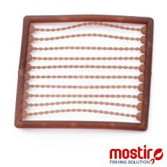 Stopper Mostiro Oval Mini Brown