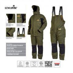 Costum Norfin Element Green/Black, marime XXL