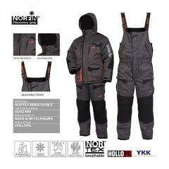 Costum Norfin Discovery Gray, marime XL