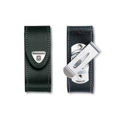 Toc pentru briceag Leather Belt Pouch 56g - Black