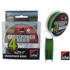 Fir textil DAM Crosspower 4-Braid 0.10mm/110m