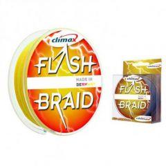 Fir textil Climax Flash Braid Yellow 0.10mm/6.5kg/100m