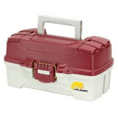 Valigeta Plano One Tray Red Tackle Box