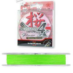 Fir textil Sakura Sensibraid 4X 0.10mm/7kg/150m