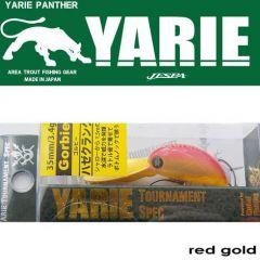Vobler Yarie-Jespa Gorbie 3.5cm/3.4g, culoare Red Gold
