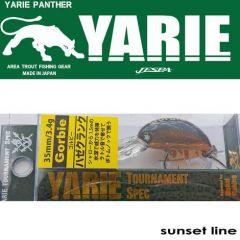 Vobler Yarie-Jespa Gorbie 3.5cm/3.4g, culoare Sunset Line