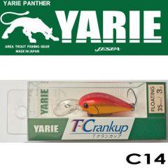 Vobler Yarie-Jespa T-Crankup 3.5cm/3g, culoare C14