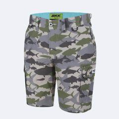Pantaloni BKK Cargo Quick Dry Camo, marime XXL