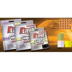 Fir fluorocarbon coated P-Line CX Premium Hi-Vis Fluorescent Green 0,18mm/3.25kg/270m
