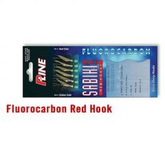 Taparina P-Line Fluorocarbon Red Hook nr.8