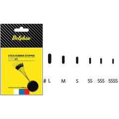 Stopper Delphin Stick Rubber L