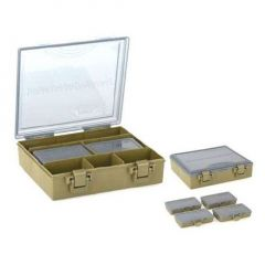 Set Prologic Tackle Organizer S 1+4 BoxSystem (23.5x20x6cm)