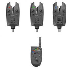 Set 3 avertizori + statie Cormoran Pro Carp X2000