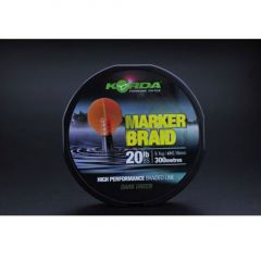 Fir textil Korda Marker Braid Green 0.16mm/9.1kg/300m