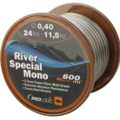 Fir monofilament Prologic River Mono Camo 0.40mm/11.5kg/600m