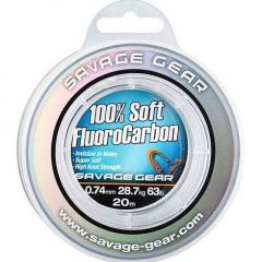 Fir fluorocarbon Savage Gear 100% FluoroCarbon 0.26mm/4.7kg/50m