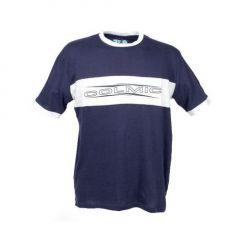 Tricou Colmic albastru/alb, marime XXXL