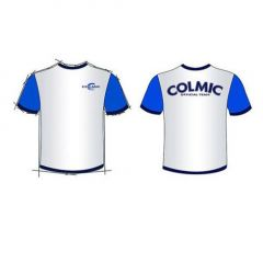 Tricou Colmic White-Blue , marimea XXXL