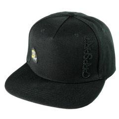 Sapca Carp Spirit Flat Peak CS Trilobe Logo Black