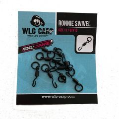 Agrafe WLC Carp Ronnie Swivel End Game with Ring Nr.11